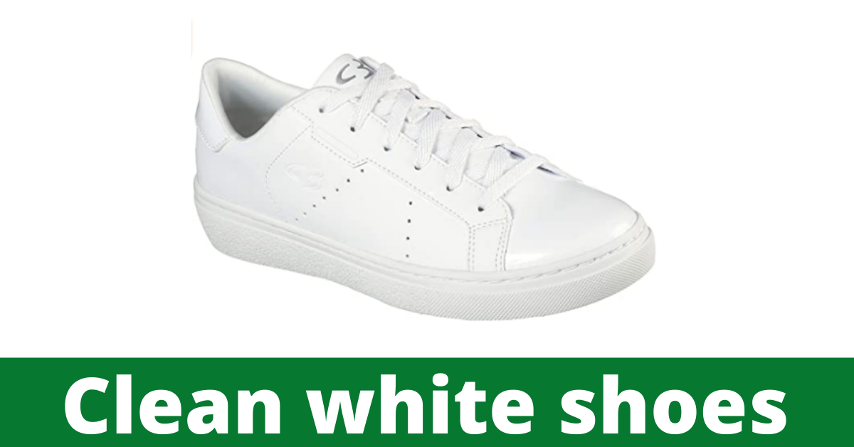 How to clean white shoes with bleach in washing machine