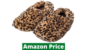 microwavable foot warmers slippers