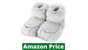 Heated slippers for elderly