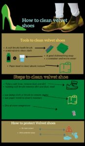 How to clean velvet shoes